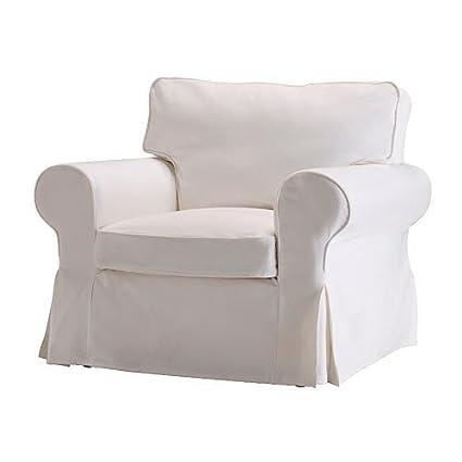 Fauteuil Ikea Ektorp Blanc.Ikea Ektorp Armchair Cover Blekinge White