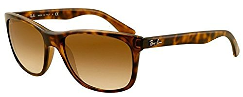Ray-Ban RB 4181 Sunglasses Light Havana / Crystal Brown Gradient 57mm & HDO Cleaning Carekit - Ray 4181 Ban