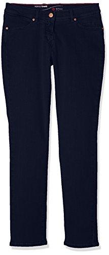 Bleu Slim Jeans Dark Femme Perfect Blue TONI Shape 059 HfqXER