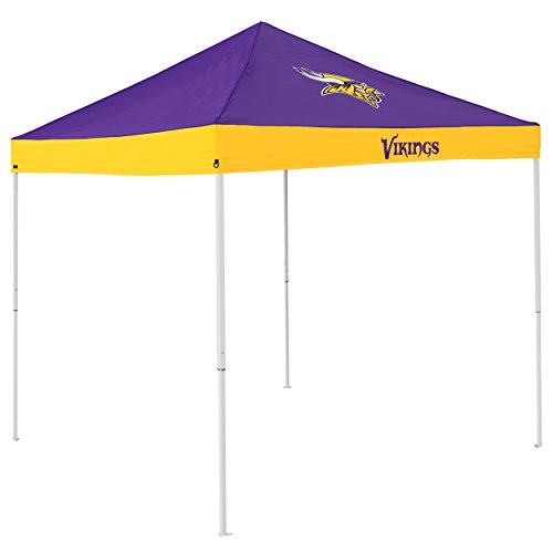 Logo Brands NFL Minnesota Vikings Economy Tent Economy Tent, Purple, One Size