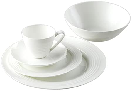 Vitta II Fine Bone China 20 Piece Dinner Set
