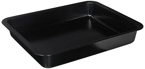 Kaiser 647616 Roasting Pan inchDelicious inch 15.35X11.81X2.36In In Black, Black