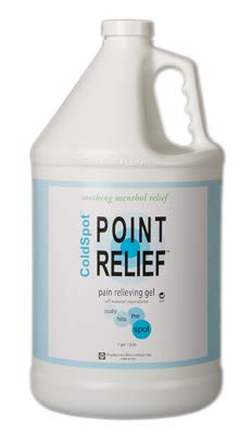 FEI 11-0712-4 Point Relief Cold Spot Topical Analgesic Lotion, Gel Pump Bottle, 128 oz. Volume (Pack of 4) by Eif