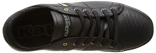 Kappa Lamaze - Zapatillas de deporte Mujer Negro - Noir (906 Black/Shiny Gold)
