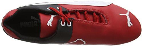 Puma Future Cat SF OG 305822 01 Herrenschuhe Leder Ferrari Sneaker Rot (R CRSA-WHT-B 02R CRSA-WHT-B 02)