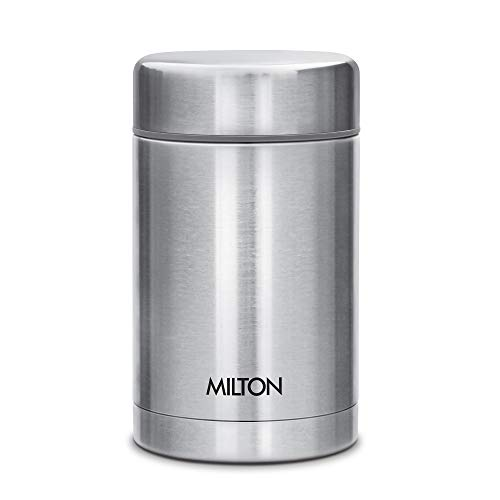 Milton Cruet 550 Thermosteel Hot and Cold Soup Flask, 515 ml, Silver Price & Reviews