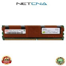 39M5782 1GB (2x512MB) IBM Compatible Memory System X x3550 240-pin DDR2-667 FBDIMM Kit 100% Compatible memory by NETCNA USA