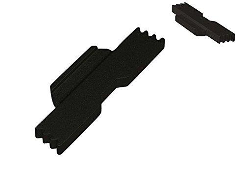 NDZ Performance Extended Lock Lever for Glock 42 .380 Black (Takedown Plate) ()