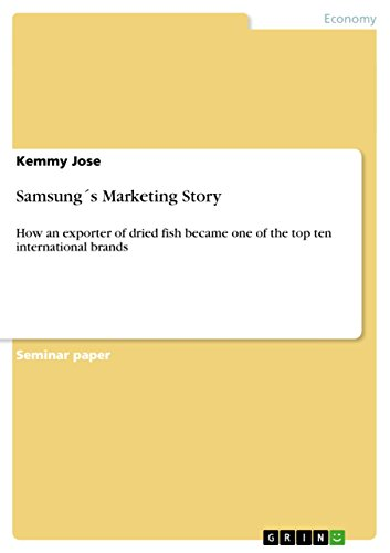 9e12befeed Amazon.com  Samsung´s Marketing Story  How an exporter of dried fish ...