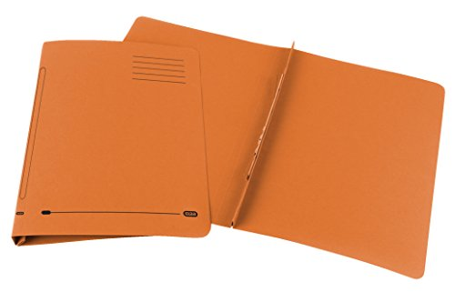 Elba Ashley Flat File 315gsm Capacity 35mm Foolscap Orange Ref 30316 [Pack of 25] by Elba