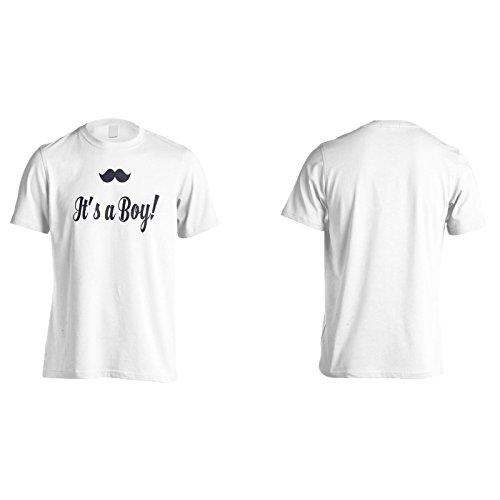 Es Ist Ein Junge! Herren T-Shirt k863m