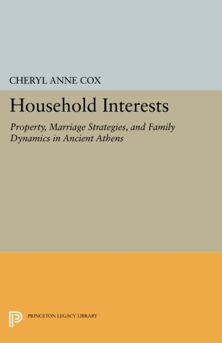 Household Interests: Property, Marriage Strategies, and Family Dynamics in Ancient Athens (Princeton Legacy Library)