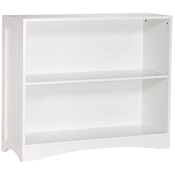 RiverRidge Horizontal Bookcase White