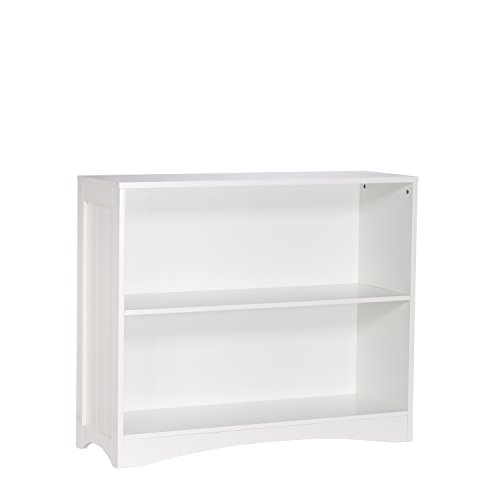 3 Piece Maple Finish Wood - RiverRidge Kids Horizontal Bookcase, White