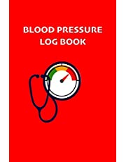 Blood Pressure Log Book: Record and Monitor Blood Pressure at Home. Your daily medical records. 2 years notebook, 53 weeks for year.