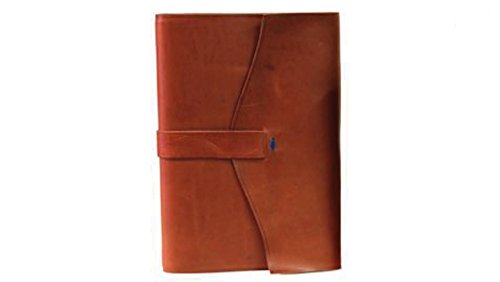 il Torchio - Leather-bound notebook with refillable pages by Torchio