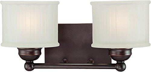 Minka Lavery 6732-167 1730 Series 2 Light Bath Bar, Lathan Bronze Finish - Series 2 Light Vanity Lamp