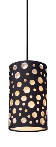 Light Enchantment Pendant 1 - Elk 68000-1 Enchantment 1-Light Pendant, 10-Inch, Matte Black