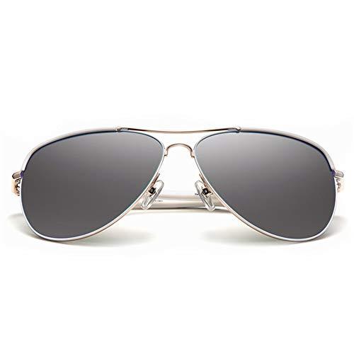 polarizadas Gafas par conducción Gafas KHIAD Sol Espejo Modelos Femeninos Modelos de conducción de Rana RtnxwqSgx