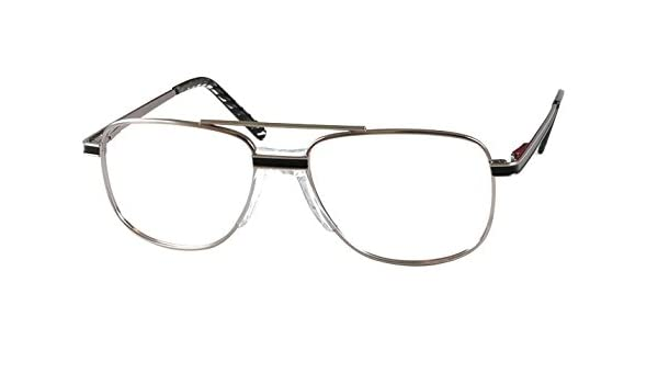 772a98bbc3 Amazon.com  ArmouRx 7007 Prescription Safety Eyewear Frame pewter (PEW) -  Size  52-15 - 41-140  Health   Personal Care