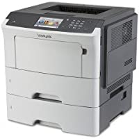 Lexmark MS610dte Mono Laser Printer (50 ppm) (800 MHz) (512 MB) (8.5 x 14) (1200 x 1200 dpi) (Max Duty Cycle 150,000 Pages) (Duplex) (USB) (Ethernet) (Touchscreen) (1,200 Sheet Input Capacity)