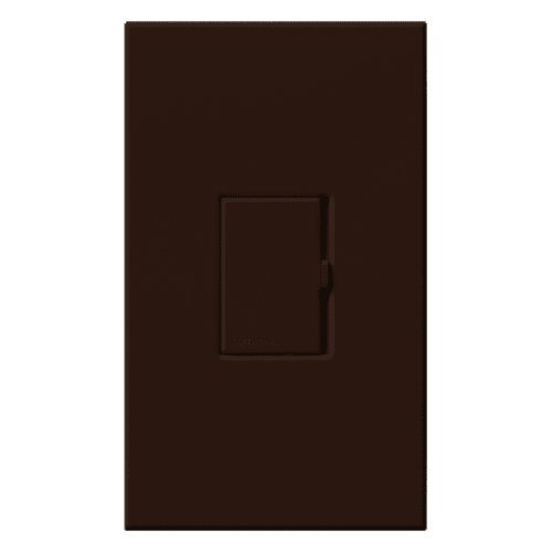 Lutron V-1000-BR, Multi Location 1000 Watt Incand Magnetic Low-Volt Light Dimmer, Brown by Lutron