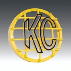 KCHilites 7213 Grill 6 Inch Yellow ABS Stone Guard(each) - Kc Hilites Stone Guard
