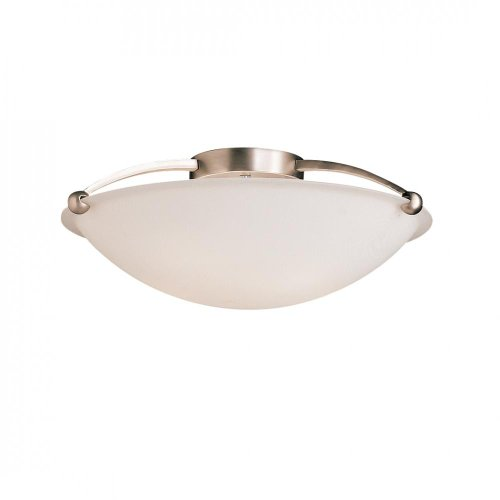 Kichler 8407NI Five Light Semi Flush Mount - Monte Carlo Semi Flush