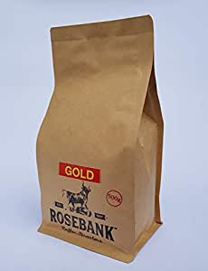 Rosebank Medium Roast Coffee Beans – Arabica Whole Bean Gourmet Coffee – Specialty Coffee – Sustainable Single Source – Floral and Fruity Flavour with Cacao and Nutty Hints - 500g