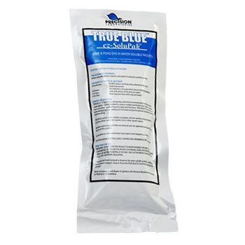 True blue pond dye 6 pack powder form lake fish tank ebay for Blue pond dye