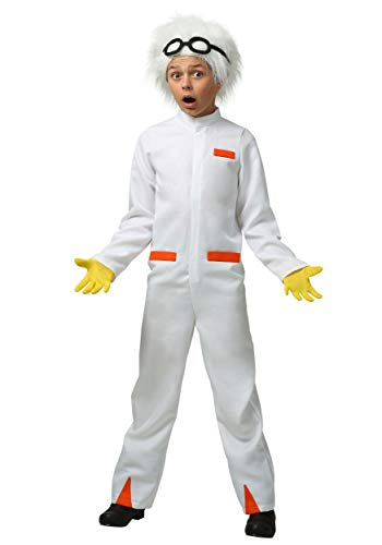 Back to the Future Child Doc Brown Costume Large (12-14)
