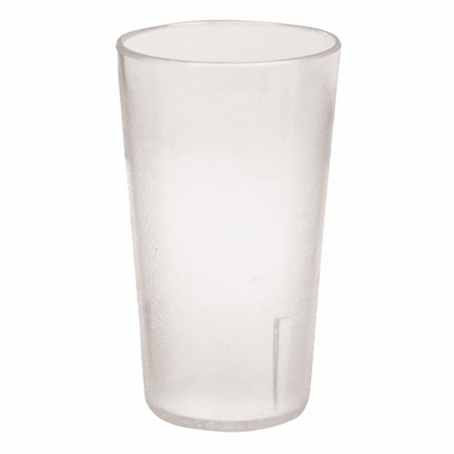 Clear Restaurant Stackable Pebbled Tumbler