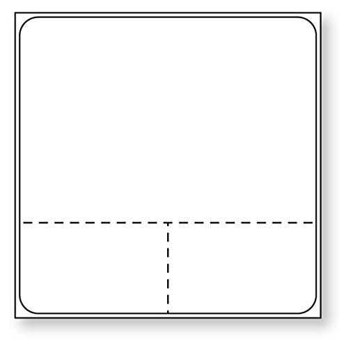 MedValue Meditech Direct Thermal Printer Label, White 3/4