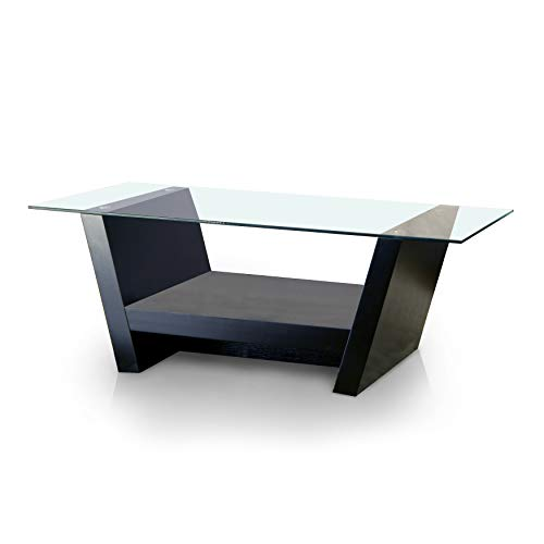(24/7 Shop at Home 247SHOPATHOME 28220CT Coffee Table, Black)