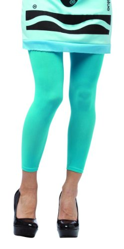 Sky Blue Crayon Costume (Rasta Imposta 458103RI Adult Crayola Tights - Sky Blue)