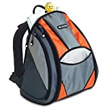 Columbia Trekster Diaper Bag - Orange and Grey