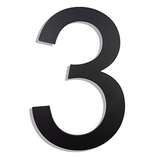 8 inch house numbers - 6
