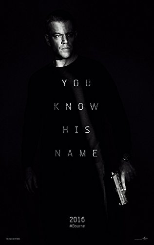 Jason Bourne Movie Poster Limited Print Photo Matt Damon Tom
