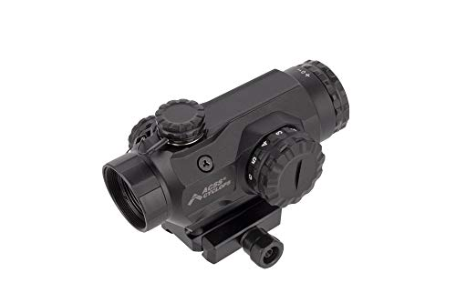 (Primary Arms Silver Series Compact 1x20 Prism Scope with Etched, Illuminated ACSS Cyclops Reticle)