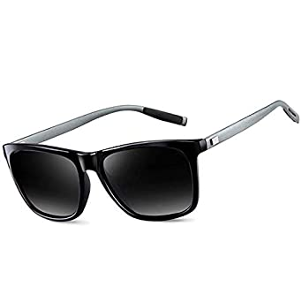 d9b032a8dc Polarized Classic Brand Sunglasses for Men Outdoor Sport Driving Eyewear  9003 (Black Gun)  Amazon.co.uk  Clothing