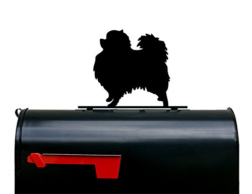 Pomeranian Dog Mailbox Topper / Plaque / Sign by NewnanMetalWorks