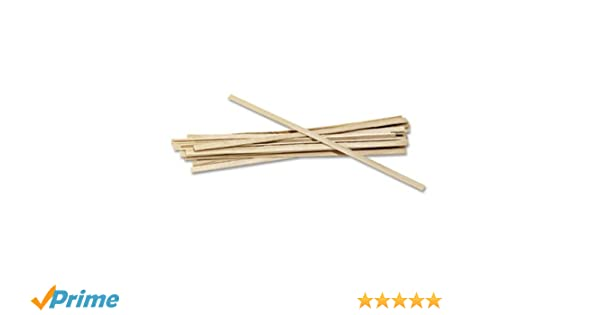 """1000 Count 5.5/"""" 1 Pack Royal 1000 Count Wood Coffee Beverage Stirrers"""