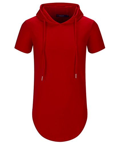 Aiyino Hipster Longline Pullover Hoodies
