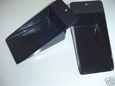 Tupperware Black Scoop Set of 2