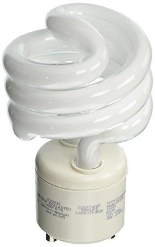 TCP 33118SP30K CFL Spring Lamp - 75 Watt Equivalent (Only 18w used!) Soft/Warm White (3000K) General Purpose Spiral Light Bulb - GU24 Base