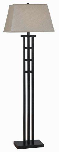 Kenroy Home 32158BRZ McIntosh Floor Lamp, 18