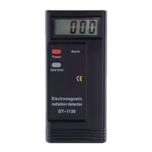 TOOGOO(R) 1 black plastic DT-1130 electromagnetic radiation tester electric field strength tester radiation detection equipment, with a battery and instructions 18.10 3CM