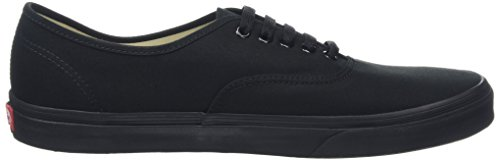 Vans Unisex Zapatillas Black Black Adulto Negro Authentic qOpzAqS