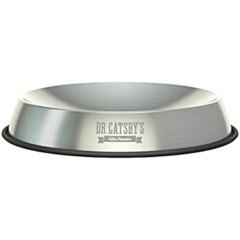 Dr. Catsby's Food Bowl for Whisker Relief