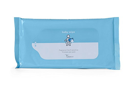 Cardinal Health 2BWPU-16 Baby Wipe Fragrance Free, 48 packs of 16